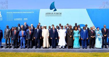 نص كلمة الرئيس السيسى في افتتاح أعمال منتدى أسوان للسلام والتنمية المستدامة