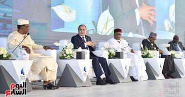 السيسى: منتدى أسوان يعبر عن ملكية أبناء القارة الأفريقية لمصيرهم