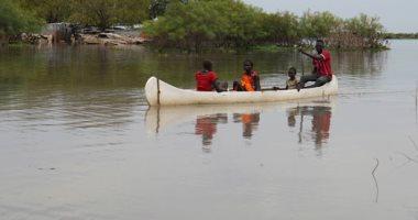 فيضانات تُغرق قرى بأكملها فى جنوب السودان.. صور