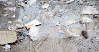 شكوى من كسر بماسورة مياه 74 شارع 15 مايو بشبرا الخيمة