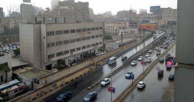 أمطار غزيرة على القاهرة والجيزة.. والأرصاد تحذر: ذروة الموجة اليوم وغدا