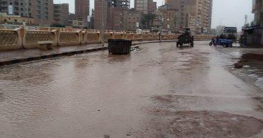 صور.. هطول أمطار غزيرة بكفر الشيخ وتوقف حركة الصيد