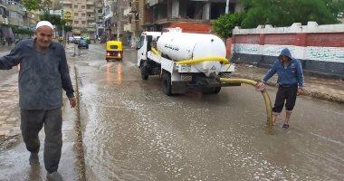 طوارئ بالبحيرة لمواجهة آثار الأمطار الغزيرة وسوء حالة الطقس.. صور