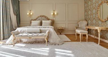 الوردى لديكور كلاسيك والخوخى للشعور بالراحة.. ألوان باستيل مناسبة لغرف النوم