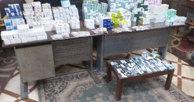 محافظ الدقهلية: ضبط 22 ألف قرص وعلبة أدوية مخدرة داخل صيدلية