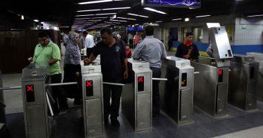 المترو: مليون راكب يستقل الخطوط الثلاثة يوميًا باستخدام الاشتراكات