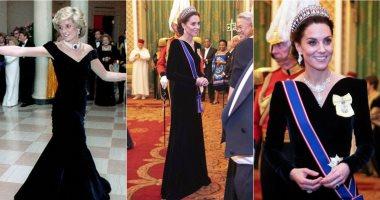 مش بس التاج.. كيف تشابهت إطلالة كيت ميدلتون الأخيرة مع الأميرة ديانا؟