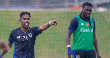 الهلال يستعد لمواجهة فلامنجو فى كأس العالم للأندية تحت الأمطار.. صور