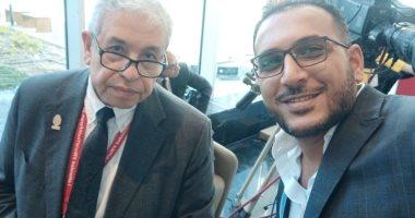 عبد المنعم سعيد: الرئيس أوصانا بزيادة إنتاج الأبحاث والدراسات الاستراتيجية