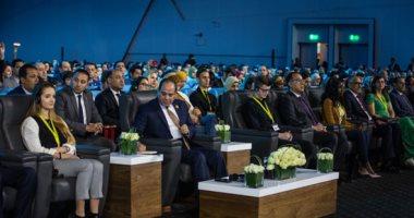الرئيس السيسي بمنتدى شباب العالم: دول تستخدم الإرهاب لتدمير اقتصاد مصر