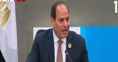 السيسى: مصر كانت لديها رؤية ثابتة.. ولا نتأمر مع من اختلفنا معهم مهما حدث