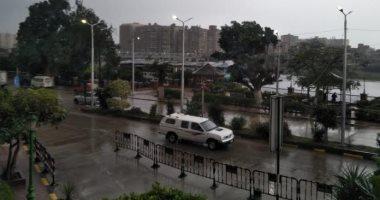 أمطار متوسطة ورياح شديدة تضرب مدن القليوبية صباح اليوم
