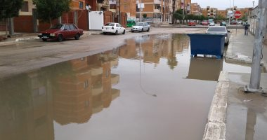 صور.. سقوط أمطار غزيرة على مدن المنوفية.. والمحافظة تدفع بسيارات شفط المياه