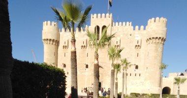 """صور.. """"آثار الإسكندرية"""": إنتهاء 90 % من أعمال صيانة قلعة قايتباى"""