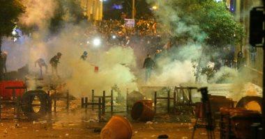 جانب من الاشتباكات فى لبنان