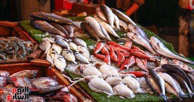أسعار السمك اليوم الجمعة 10-1-2020 بسوق العبور