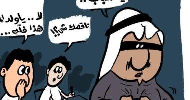 """كاريكاتير صحيفة كويتية.. """"الغش"""" فى لجان الإمتحانات وضياع مجهود الطلبة"""