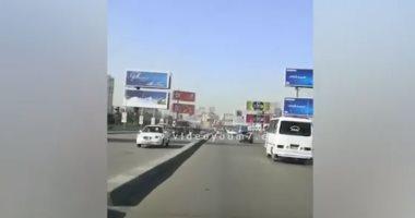 فيديو.. تعرف على الحالة المرورية أعلى كوبرى أكتوبر من التحرير حتى المهندسين