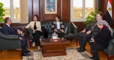 محافظ الإسكندرية يستقبل قنصل فرنسا لبحث سبل توطيد العلاقات