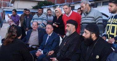 محافظ الإسكندرية يقدم واجب العزاء لأسرة غطاس الصرف الصحي لقى مصرعه