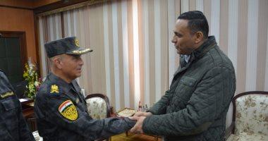 محافظ الدقهلية يستقبل مساعد وزير الداخلية للأمن المركزى لمنطقة شرق الدلتا