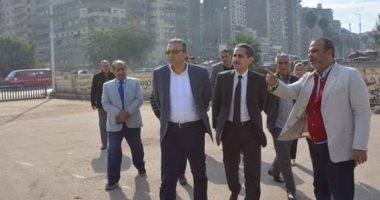 صور.. محافظ الغربية ونائبه يتابعان أعمال الرصف بمركز ومدينة المحلة