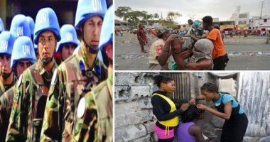 """الجنس مقابل الطعام.. أفراد قوات حفظ السلام الأممية فى هايتى انجبوا مئات الأطفال غير الشرعيين.. 10 نساء يقاضين الأمم المتحدة.. ودراسة: فتيات بعمر 11 عاما تم استغلالهن جنسيا.. و""""التايمز"""" البريطانية تكشف المزيد"""