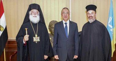 محافظ الإسكندرية يستقبل البابا ثيودوروس الثانى ووفدا من الكنائس الغربية