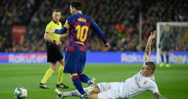 """برشلونة ضد الريال.. شوط كلاسيكو مثير رغم التعادل السلبي """"فيديو"""""""