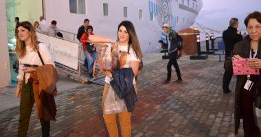 وصول 800 سائح من جنسيات مختلفة على سفينة قادمة من اليونان