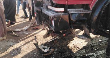 النيابة العامة تصرح بدفن 12 شخص لقوا مصرعهم بحادث اصطدام المنوفية