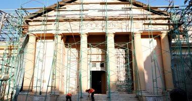 الآثار تنهى 60% من تطوير المتحف اليونانى وافتتاح المعبد اليهودى فى 2020