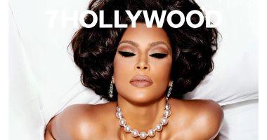 """كيم كاردشيان بنيولوك مميز على غلاف """"7 Hollywood"""".. مش هتعرفها من أول نظرة"""