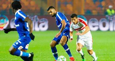ملخص مباراة الزمالك وسموحة في الدوري اليوم السابع