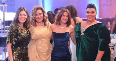 حازم إمام وحسام صالح ورباعي برنامج كلام ستات بحفل جوائز دير جيست