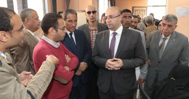 محافظ بني سويف يكلف مسؤولي محلية اهناسيا بمتابعة المشروعات الخدمية