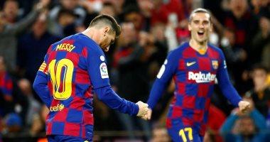 ميسي يصل للهدف 50 مع برشلونة في عام 2019 .. فيديو