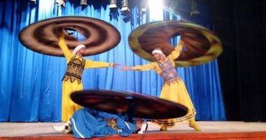 فرقة أسيوط للفنون الشعبية تشارك بمهرجان التحطيب الدولى بالأقصر