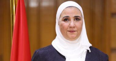 """وزيرة التضامن توجه ببحث حالة المسنة صاحبة فيديو """"دخول الحمام"""""""