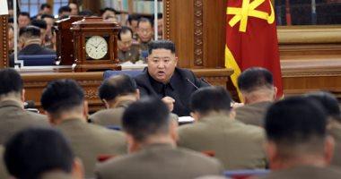 زعيم كوريا الشمالية يتفقد المناطق التى ضربتها البلاد فى الشهور الأخيرة
