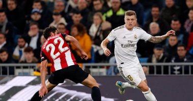 """ريال مدريد يواجه أتلتيك بيلباو فى """"عز الظهر"""" بالدورى الإسبانى"""