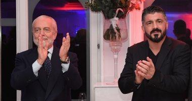 رئيس نابولي يطرح ثقته فى جاتوزو لتصحيح المسار