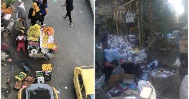 أسلاك عارية وباعة جائلون وقمامة.. شكوى سكان منيل الروضة
