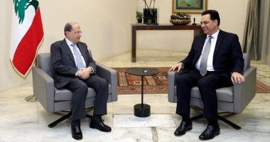 ميشال عون يلتقى حسان دياب الرئيس المكلف لتشكيل الحكومة اليوم السابع
