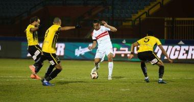الإنتاج الحربي ضد الزمالك شاهد اهداف مباريات اليوم في الدوري