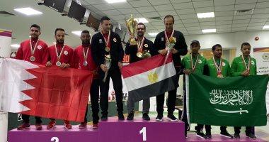 5 ميداليات متنوعة حصيلة مصر فى اليوم الأول بالبطولة العربية للرماية