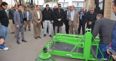 تسليم معدات نظافة جديدة لمركز ومدينة طلخا بالدقهلية بـ 2 مليون جنيه
