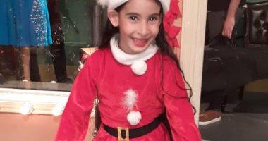 """""""أشرف"""" يشارك صحافة المواطن بصورة لابنتيه خلال الاحتفال بالسنة الجديدة"""