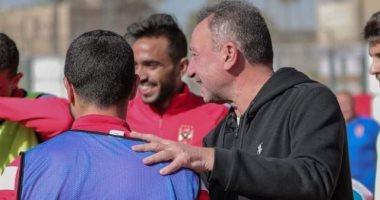 الخطيب يدعم لاعبي الأهلي فى التتش بعد خسارة السوبر
