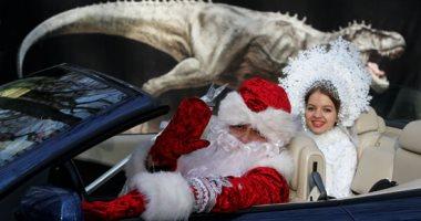حفلات زفاف خيرية فى روسيا وتوزيع الطعام على المشردين خلال أعياد الميلاد